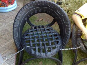 168 cadeira de pneu
