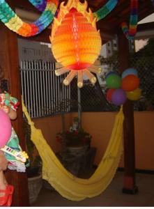Festinha área externa
