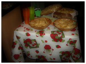 Pasteis e biscoitos de queijo