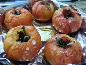 Tomates assados